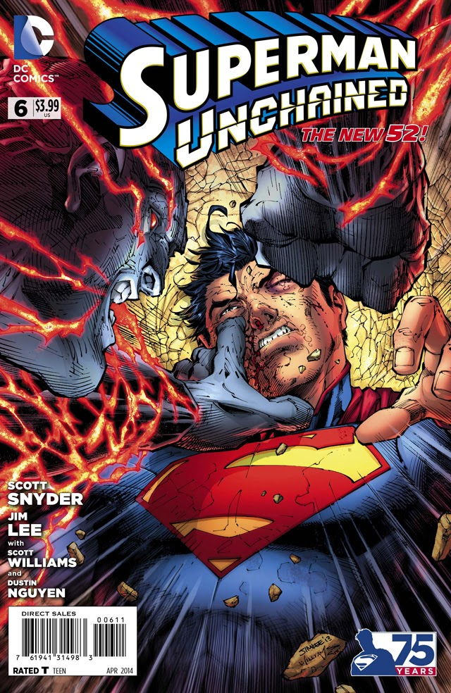 Cover SMUND Cv6 ds - Primer vistazo a Superman Unchained #6