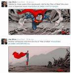 Jay Oliva comparte dos guiones gráficos que hizo para 'El Hombre de Acero'