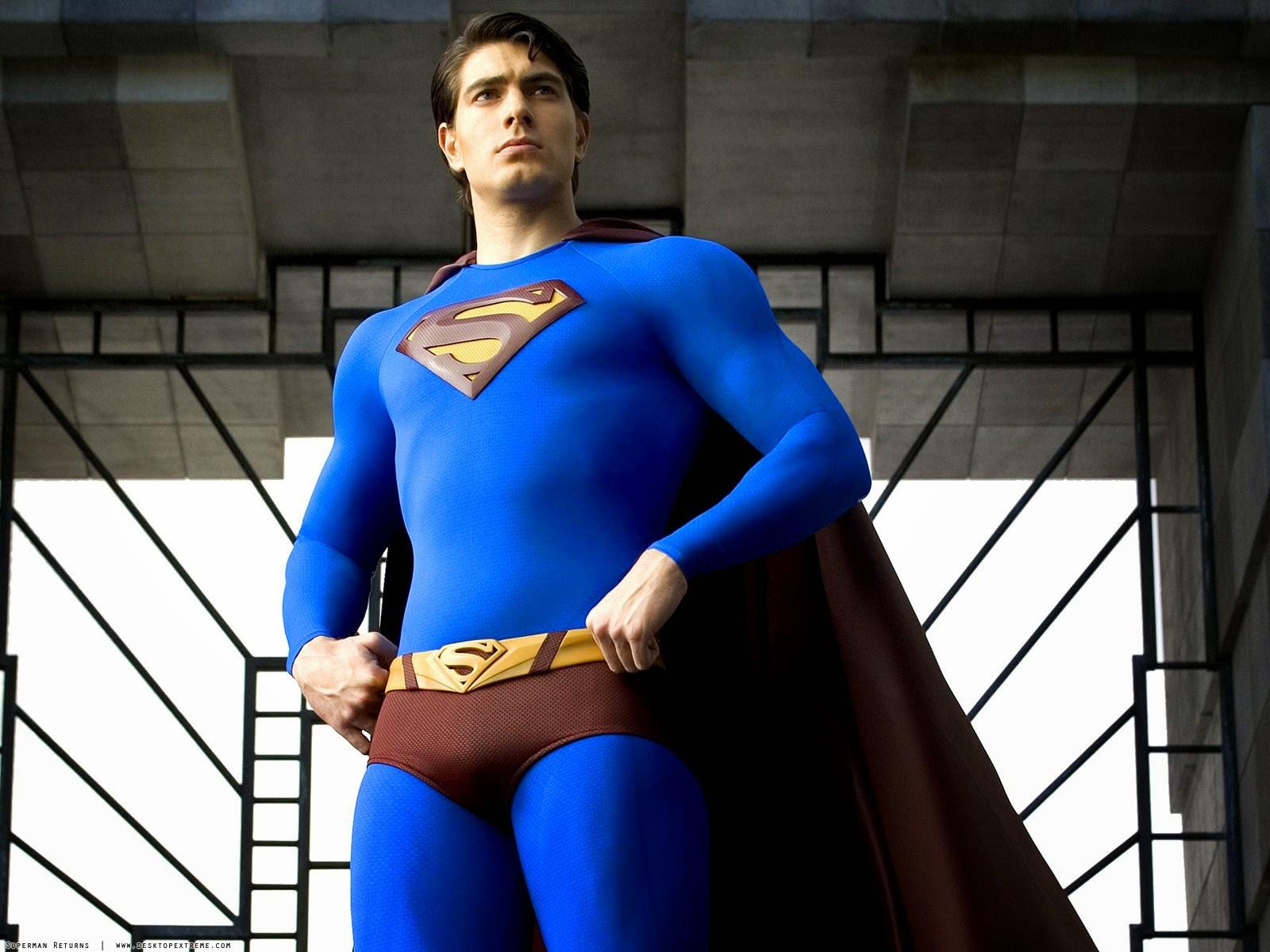"BrandonRouthSupermanReturns 1 - Brandon Routh revela su silueta de Superman para ""Crisis en Tierras Infinitas"""