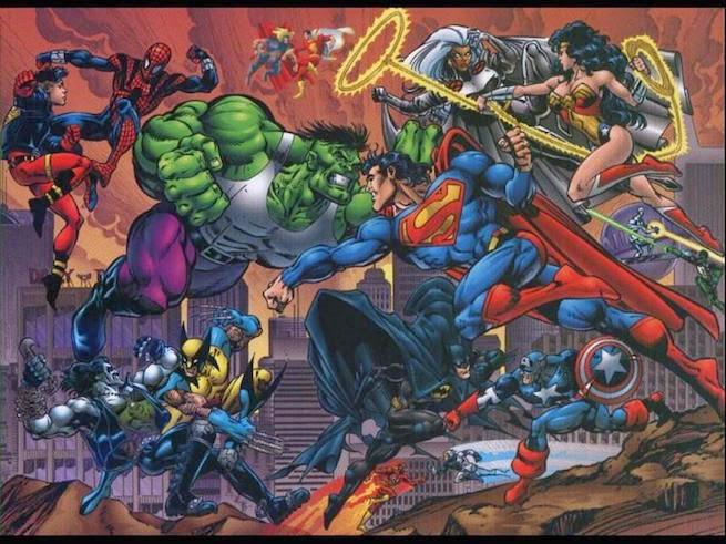 MarvelvsDCComics - James Gunn no descarta un crossover DC/Marvel
