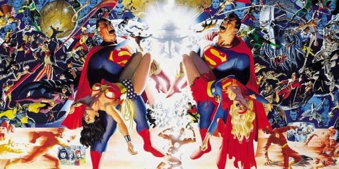 """CrisisenTierrasInfinitasECCEdiciones - """"Crisis en Tierras Infinitas"""" de The CW tendrá un cómic escrito por Marv Wolfman y Marc Guggenheim"""