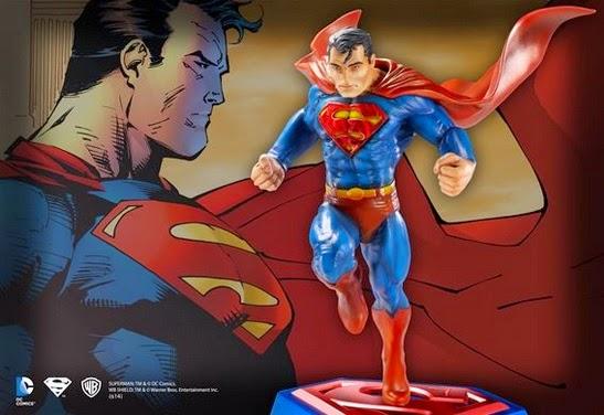 EstatuadeSupermandeJimLee - The Noble Collection anuncia nueva estatua de Superman