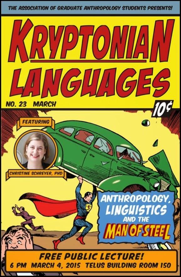 KryptonianLanguages 2 - Conferencia pública sobre las Lenguas Kryptonianas por la Dra. Schreyer