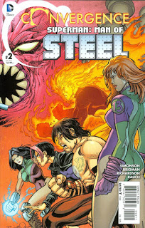 Reseña de Convergence: Superman – The Man of Steel #2