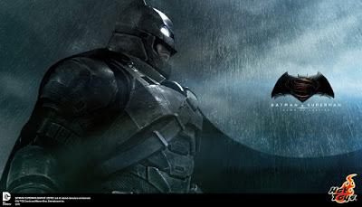 Hot Toys adelanta el lanzamiento de Batman de 'Batman V Superman: El Amanecer de la Justicia' en tamaño real