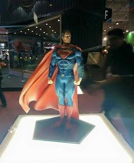 "Iron Studios expone sus figuras de ""Batman v Superman"" en la Comic Con Experience Brazil 2015"