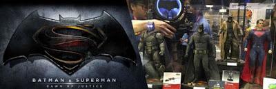 Figuras de Hot Toys de 'Batman V Superman: Amanecer de la Justicia' en la convección Toy Soul 2015