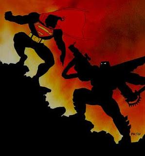 Frank Miller estaría planeando un cómic de Superman en el que Batman fuera el villano de la historia