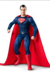 """TRAS BATMAN Y WONDER WOMAN LLEGA EL MUÑECO BARBIE DE SUPERMAN INSPIRADO EN """"BATMAN V SUPERMAN"""""""