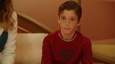 KarayKal El2 - Primer vistazo al joven Kal-El en 'Supergirl'