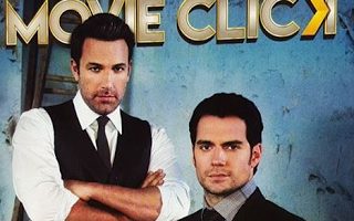 Henry Cavill y Ben Affleck en la portada de la revista Movie Click y entrevista con John Desjardins (supervisor de efectos visuales)