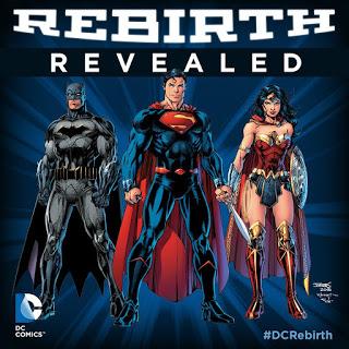 """Rebirth Graphic - DC COMICS HA PRESENTADO HOY """"REBIRTH"""" A LA PRENSA DURANTE SU PANEL EN LA WONDERCON!"""