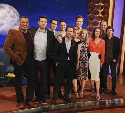 El elenco de 'Batman V Superman' asiste al programa de Conan O'Brien