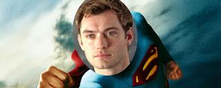 JUDE LAW ESTUVO A PUNTO DE SER SUPERMAN EN 2004