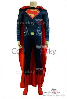 Ganador del concurso Cosplay Disfraz Versión Deluxe de Superman de 'Batman V Superman: El Amanecer de la Justicia'