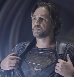 """RUSSEL CROWE REVELA LOS PLANES QUE HUBO DE MÁS PELÍCULAS  DE SUPERMAN EN SOLITARIO ANTES DE """"BATMAN v SUPERMAN: EL AMANECER DE LA JUSTICIA"""