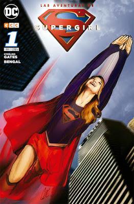 Aventuras de Supergirl 1 - 'Las aventuras de Supergirl' será publicada por ECC Ediciones