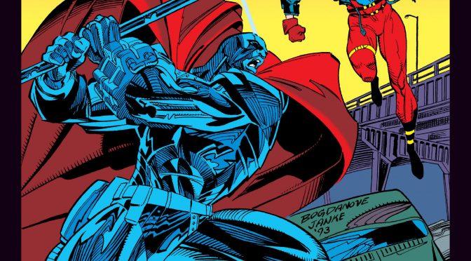 Primer vistazo a la película de animación 'El reinado de los superhombres' en la Comic Con de Nueva York