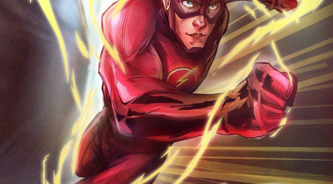 El arte conceptual de 'Batman V Superman' muestra un traje más aerodinámico para Flash