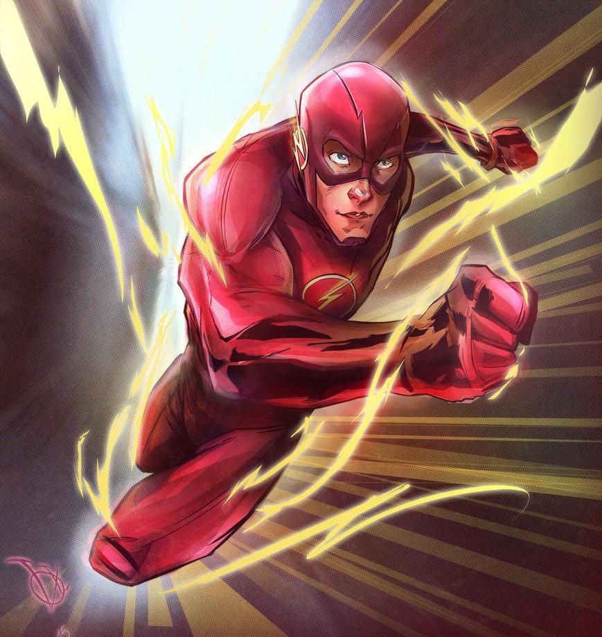 the flash by vadimlityuk d9jidi6 - El arte conceptual de 'Batman V Superman' muestra un traje más aerodinámico para Flash
