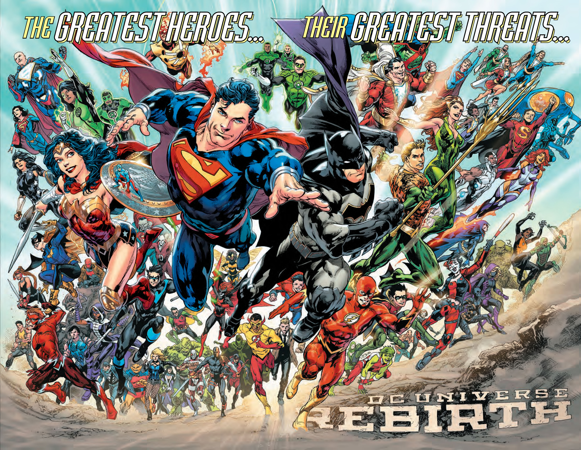 Rebirth - [Rumor] Warner Bros. estaría desarrollando 'Justice League: Rebirth'