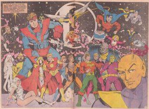 Legión de Superhéroes 300x220 - El misterio detrás de las iniciales LL