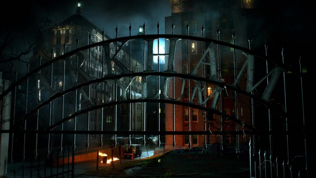 "arkham gotham - Primer vistazo al asilo Arkham en el crossover ""Elseworlds"""