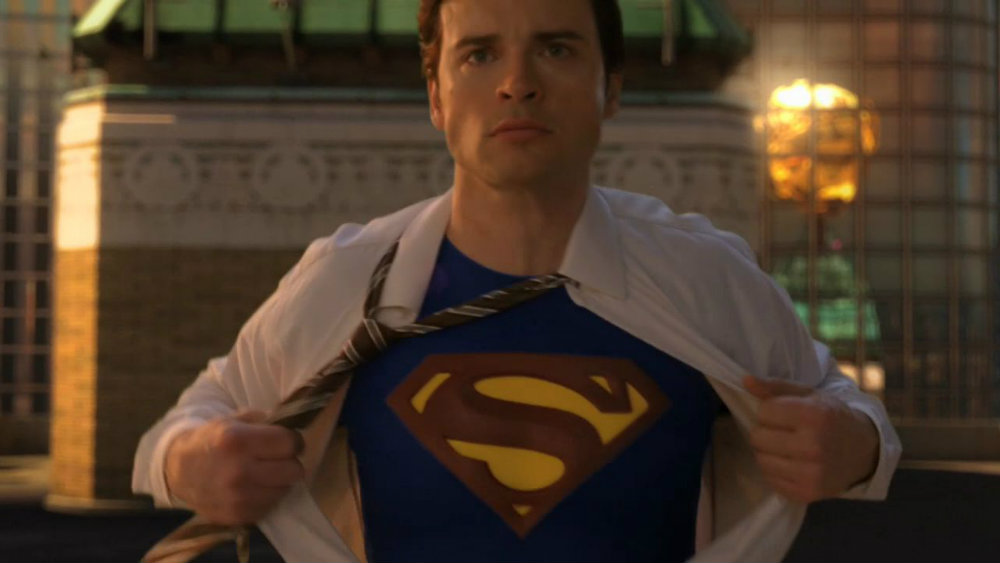 Tom Welling in Smallville - Se rumorea que Tom Welling aparecerá en la última temporada de 'Arrow'