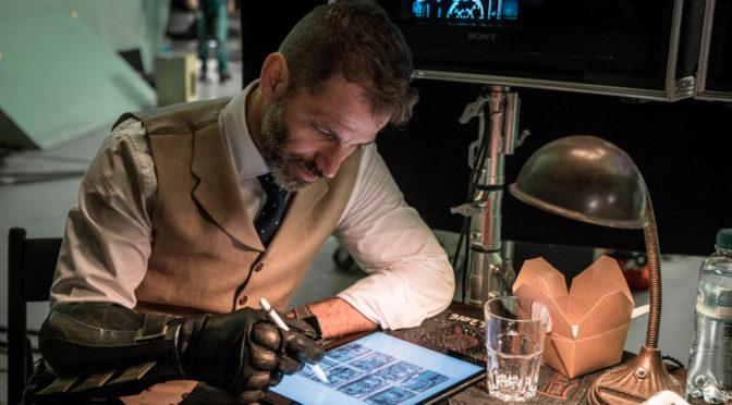 Nuevo storyboard de la 'Liga de la Justicia' revelado por Zack Snyder