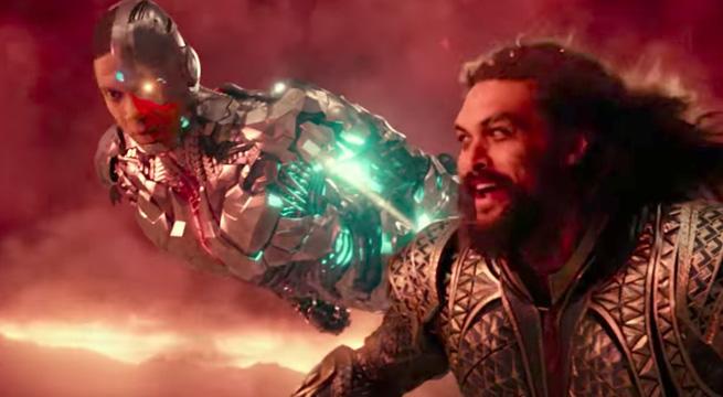 Cyrborg y Aquaman