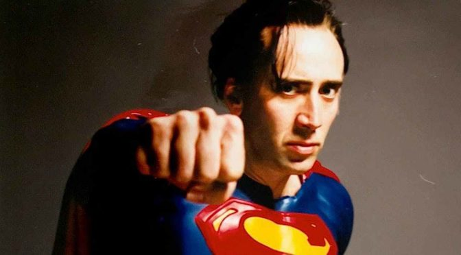 DC Daily exhibe el traje de 'Superman Lives' de Nicolas Cage