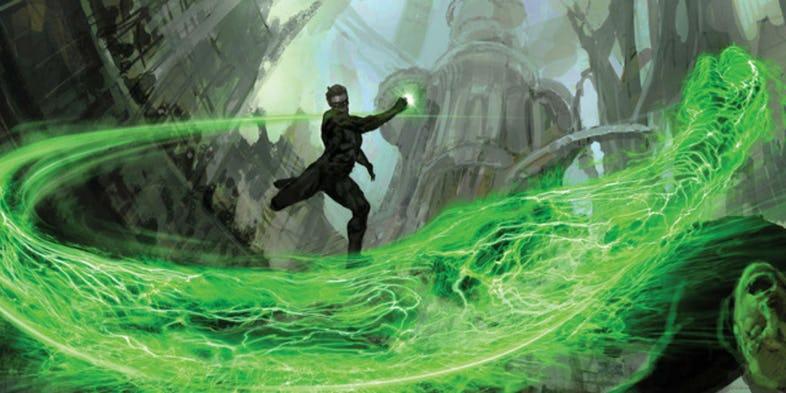 Green Lantern concept art - Huevos de Pascua de la 'Liga de la Justicia' que te perdiste completamente