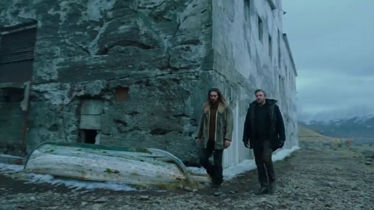 Sin título - Bruce Wayne y Arthur Curry tienen una conversación en este nuevo clip de la 'Liga de la Justicia'