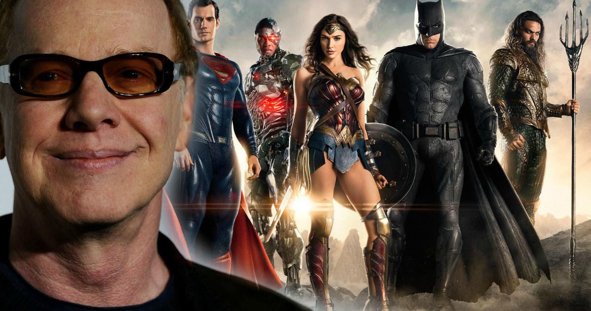 """Justice League Movie Soundtrack Danny Elfman Score Reshoot - El compositor de la """"Liga de la Justicia"""", Danny Elfman, rompe el silencio sobre el movimiento Snyder Cut"""