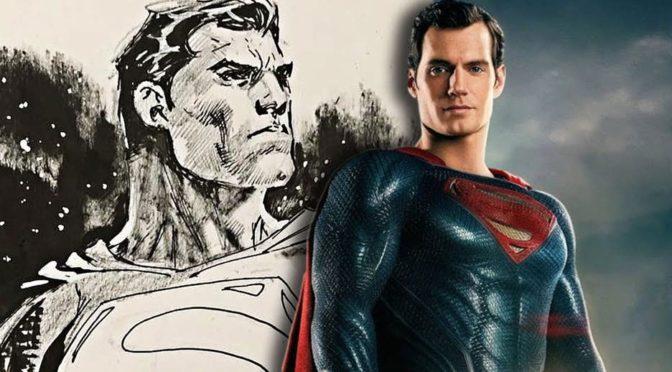 Artistas del cómic ilustran a Henry Cavill como Superman y a la Liga de la Justicia cinematográfica