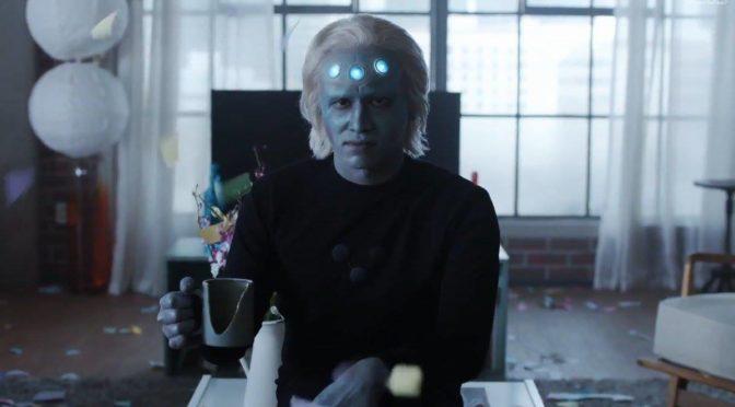 """Vistazo a Brainiac 5 en esta promo de 'Supergirl' 3×10 """"Legion of Superheroes"""". Y descripción oficial del undécimo episodio"""