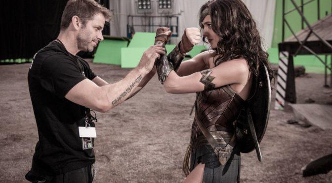 Zack Snyder no reconoce el aspecto de Wonder Woman en una escena de la 'Liga de la Justicia'