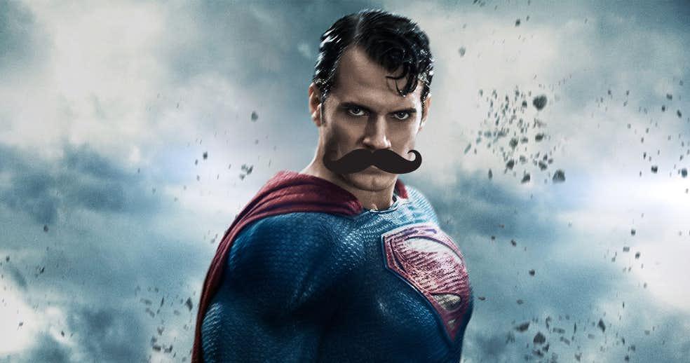 Superman mustache - Zack Snyder se pronuncia sobre el tema del bigote de Superman en la 'Liga de la Justicia'
