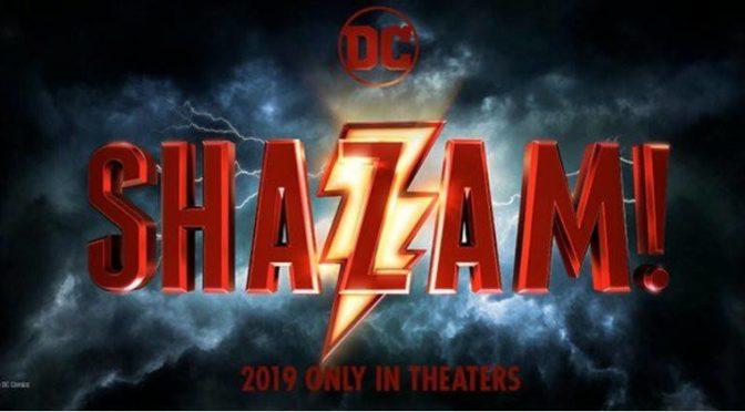 """Nueva imagen oficial de """"Shazam!"""""""