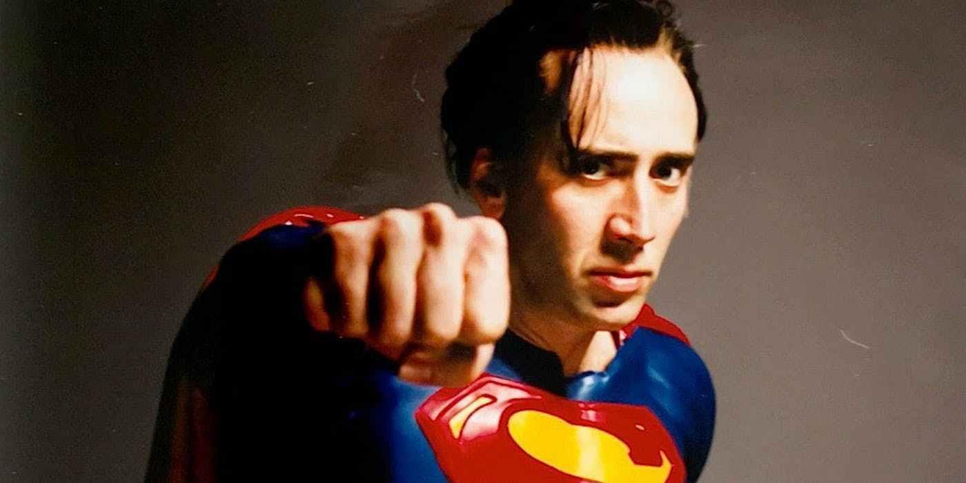 nicolas cage superman lives - Nicolas Cage cree que sería un gran Lex Luthor en una película de Superman