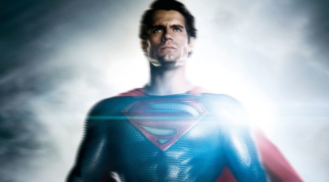Foto de Superman entre bastidores de la 'Liga de la Justicia'