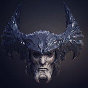 Steppenwolf Head 300x300 - Creando a Steppewolf en la 'Liga de la Justicia'