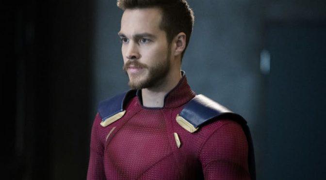 Imágenes del nuevo traje de Mon-El en 'Supergirl'