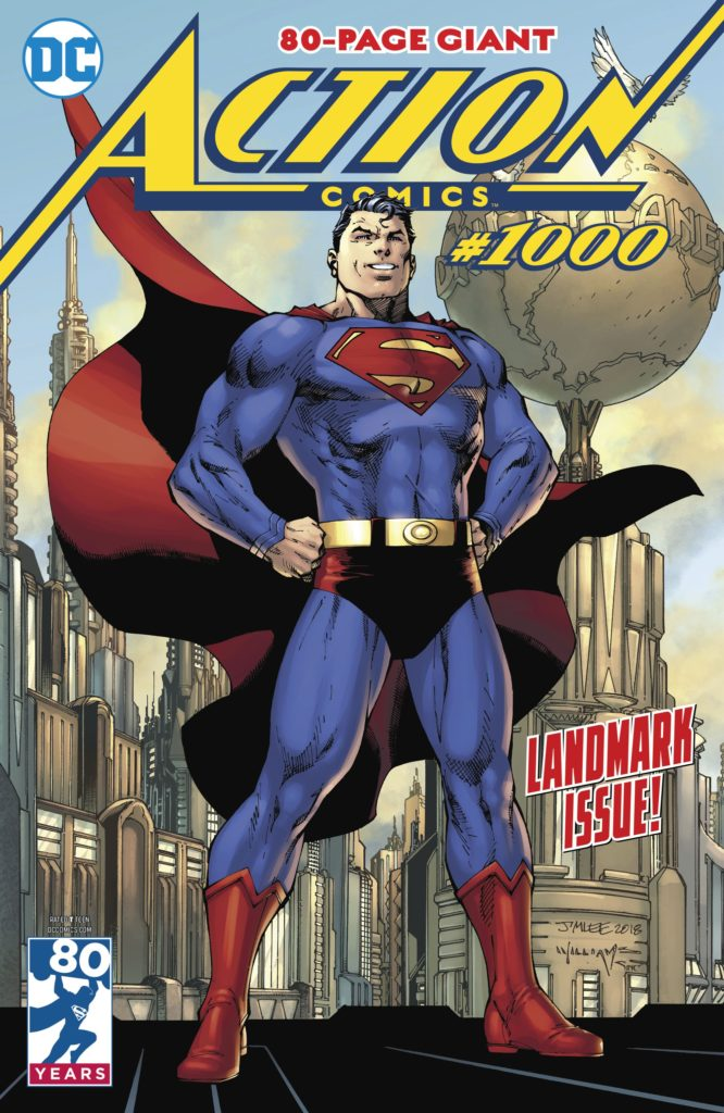 "06 actioncomics1000 - ""Action Comics #1000"" encabeza las listas de ventas de 2018"