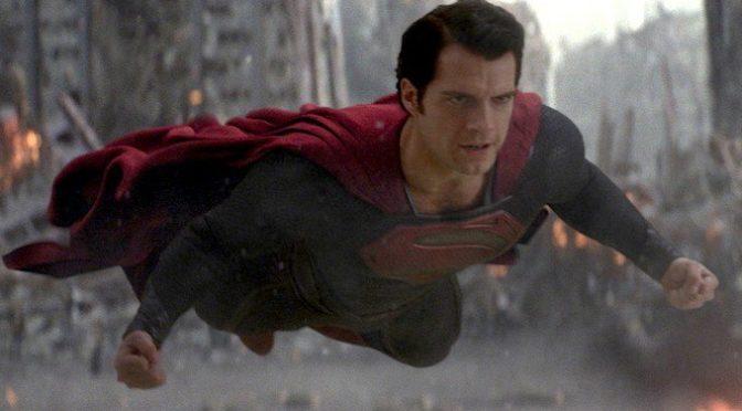 Henry Cavill comparte su imagen favorita de Superman