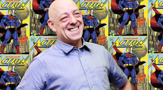 Bendis comparte el debut de Rebirth de The Question en Action Comics #1005