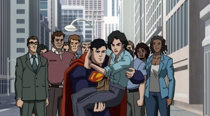 Nuevo clip de la película animada 'La muerte de Superman'
