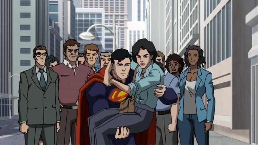 63938 - Nuevo clip de la película animada 'La muerte de Superman'