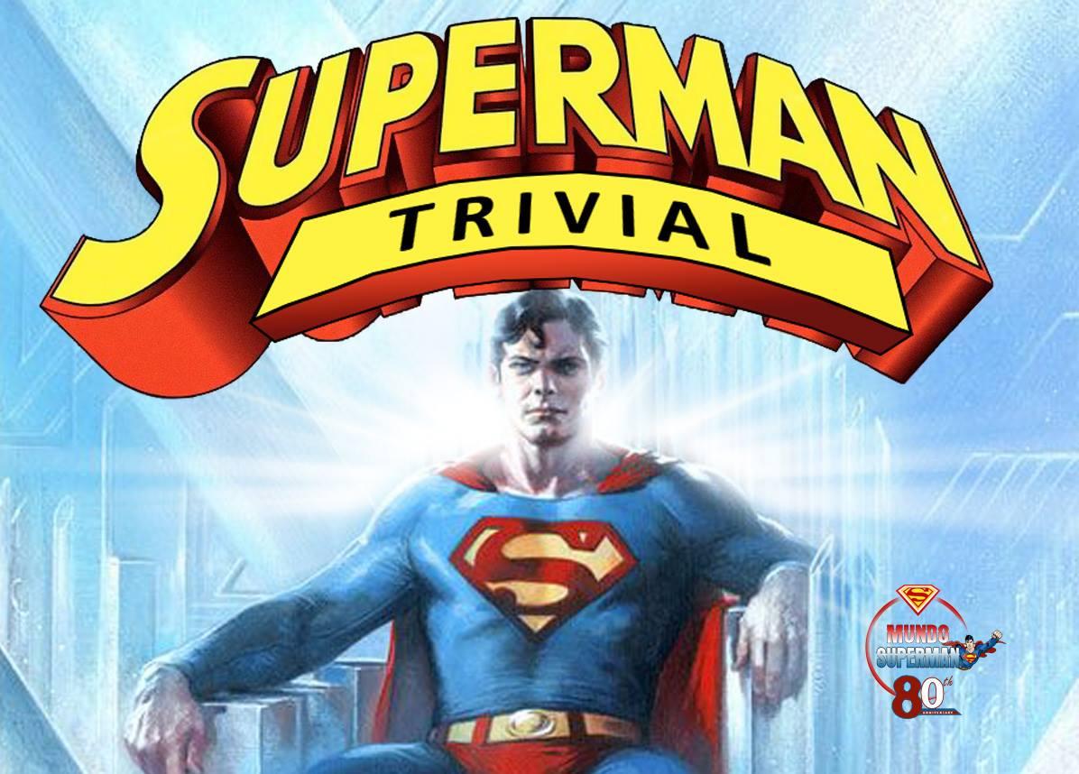 Banner Super Trivial - Superman Trivial