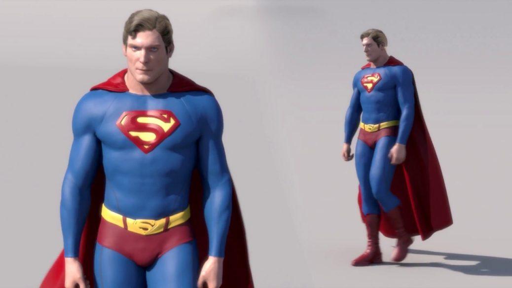 """ChrisReeve SR - Esta creación hecha por un fan muestra a Christopher Reeve con el traje de """"Superman Returns"""